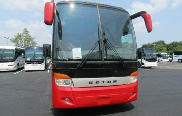 2011 56 pass setra with panorama roof